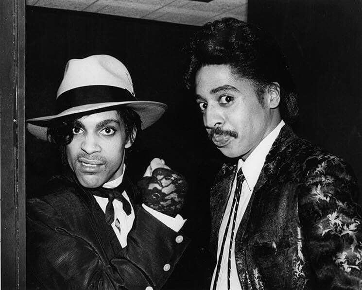Prince and Morris Day celebrate THIS IS NOT A TEST taking a week off